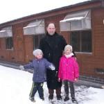 Paweł z dziećmi